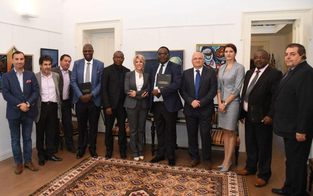 Delegatie oficiala a Republicii Zambia, in vizita la Galeria Alexandra's