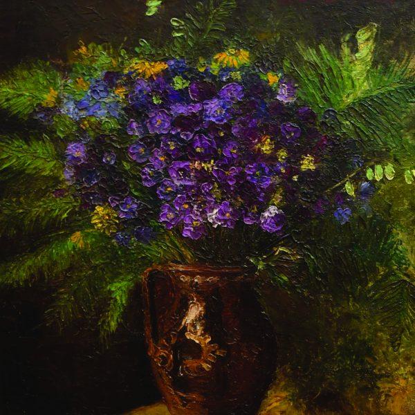"""Albastrele in Ulcica"", de Octav Bancila"
