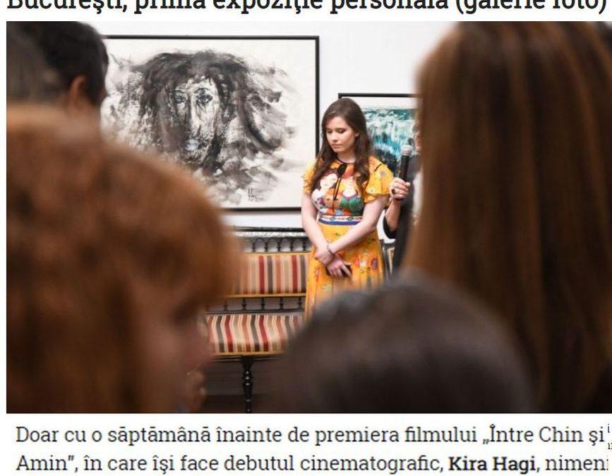 Kira Hagi si Galeria Alexandra's in Ziua de Constanta