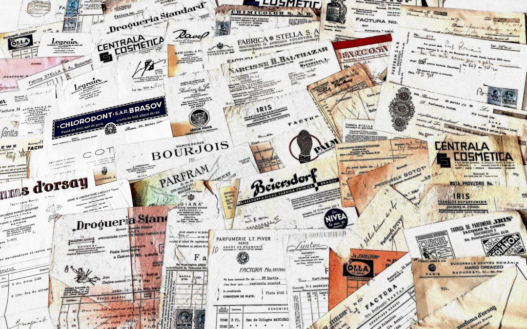 Povestile ascunse in facturile interbelice – Expozitie Inedita
