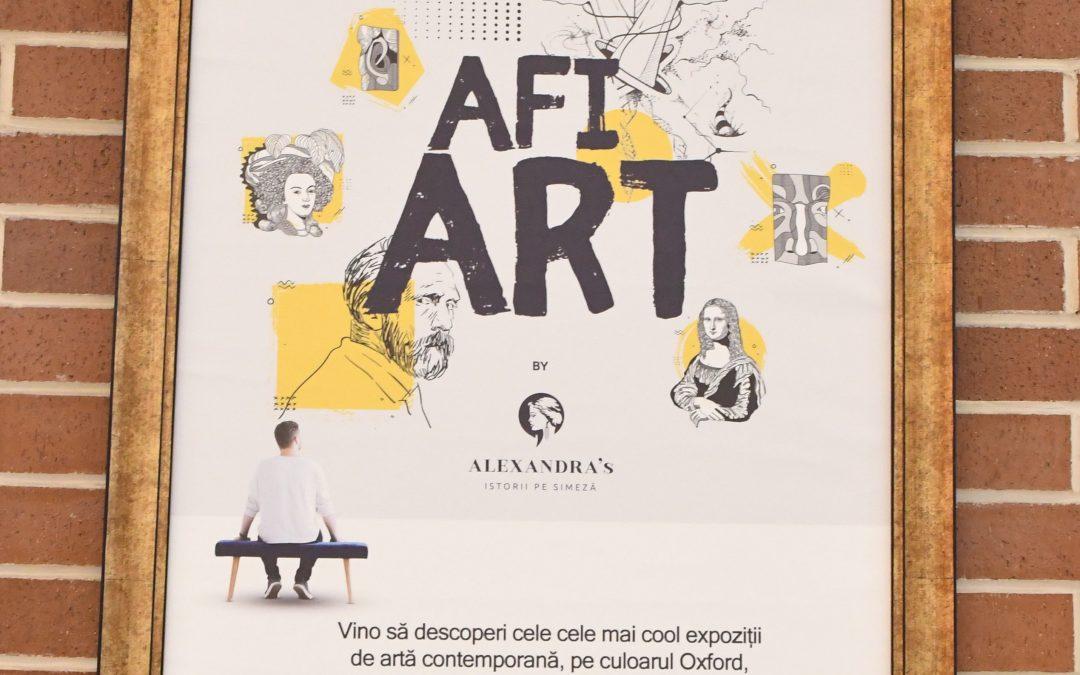 expozitie inedita de arta in AFI Cotroceni