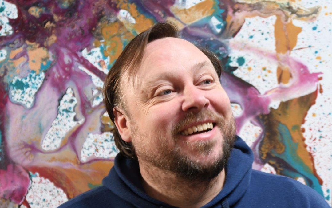 Incursiune într-o explozie de culori – acasă la Marcel Thiele