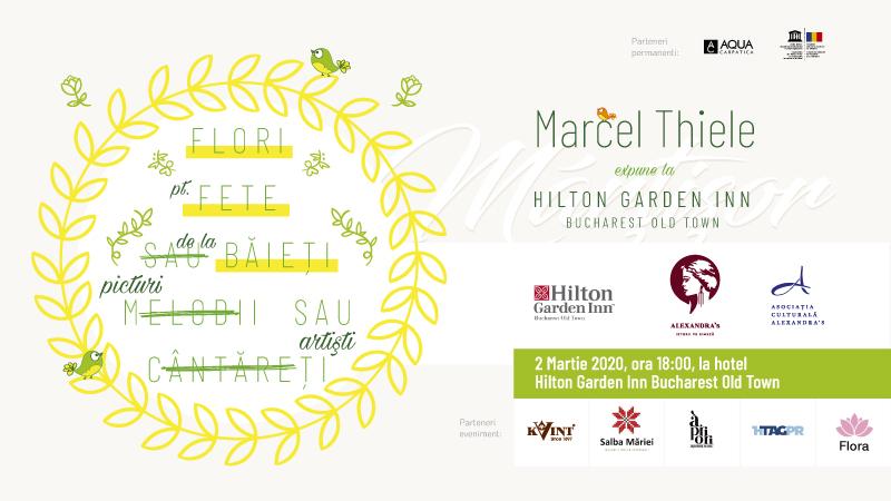 Tablouri mărțișor, bijuterii mărțișor, cărți mărțișor, la Hilton