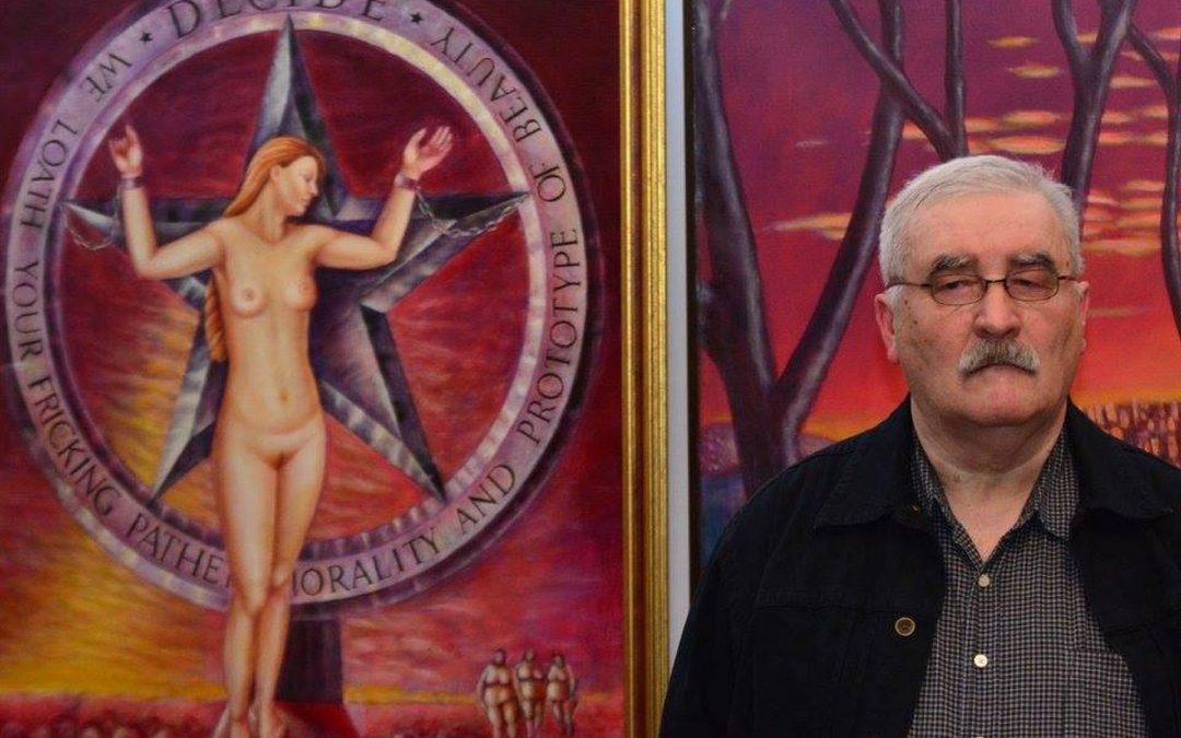 Ovidiu Lebejoara, creatorul de spații imaginare, la Galeria Alexandra's