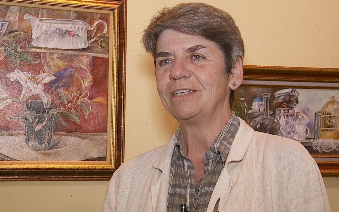 Sanda Buțiu – Prezentarea lucrărilor expuse la Galeria Alexandra's in ianuarie 2018