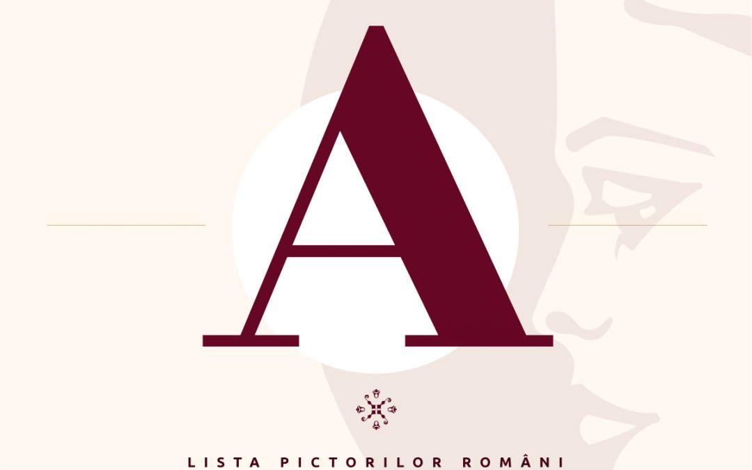 Lista pictorilor români – semnături pictori – litera A