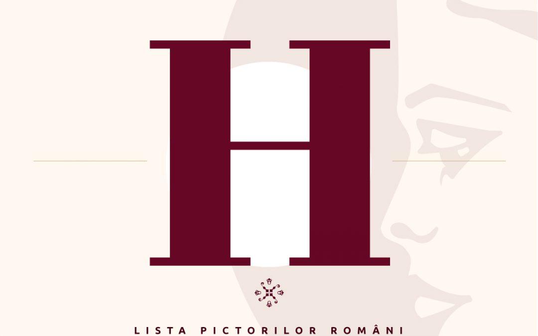 Lista pictorilor români – semnături pictori – litera H