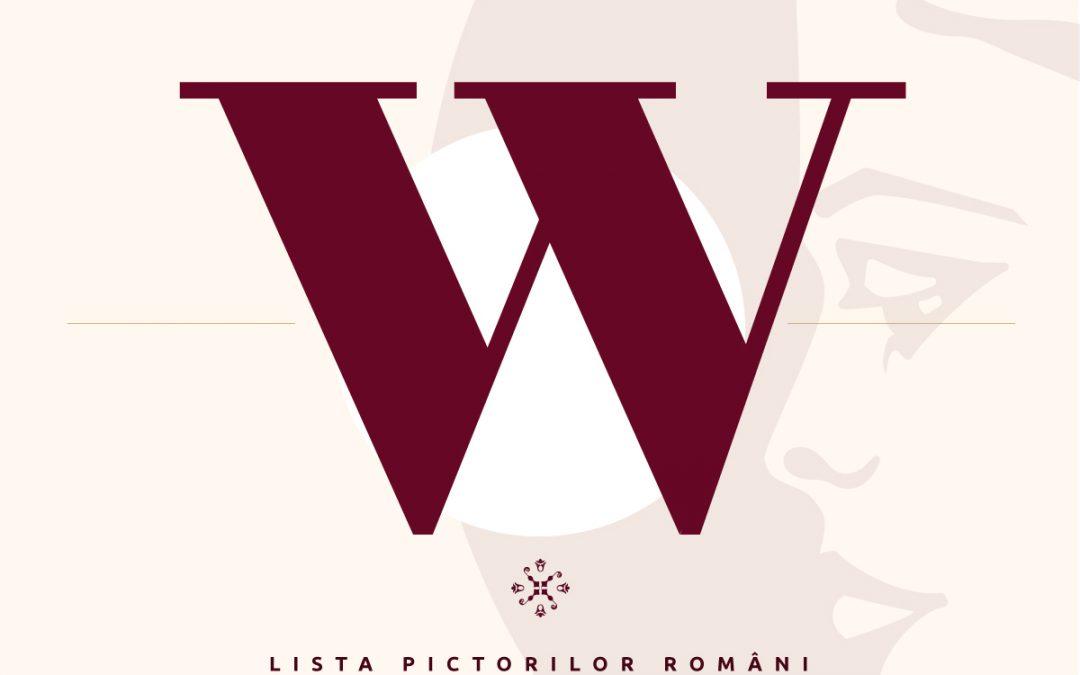 Lista pictorilor români – semnături pictori – litera W