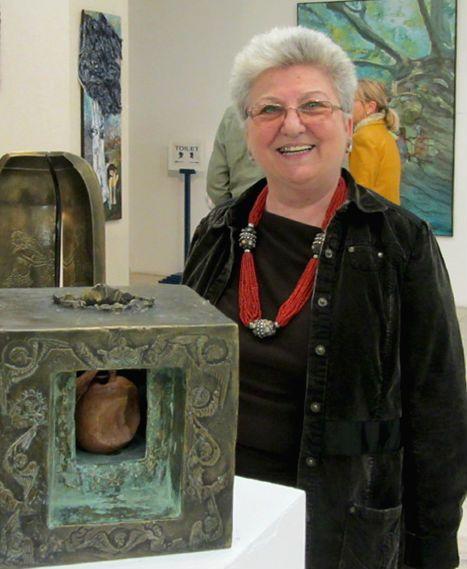 Ana Rus, sculptorul deghizat in muzeograf la Muzeul Cotroceni