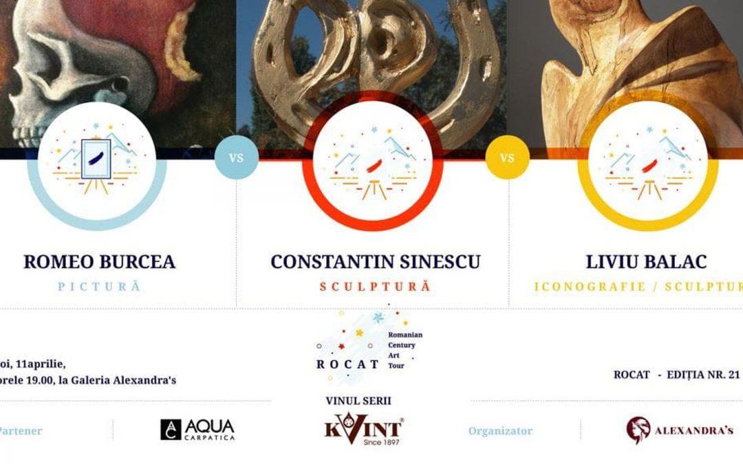 ROCAT 21, cu Romeo Burcea, Constantin Sinescu si Liviu Balac