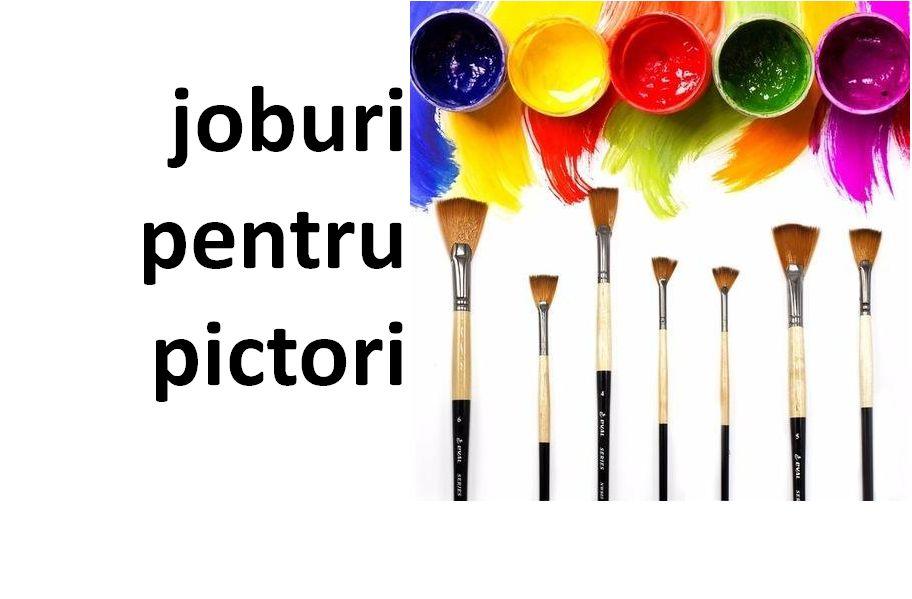 Joburi pentru pictori – Licitatie pentru lucrari de pictura – Dambovita