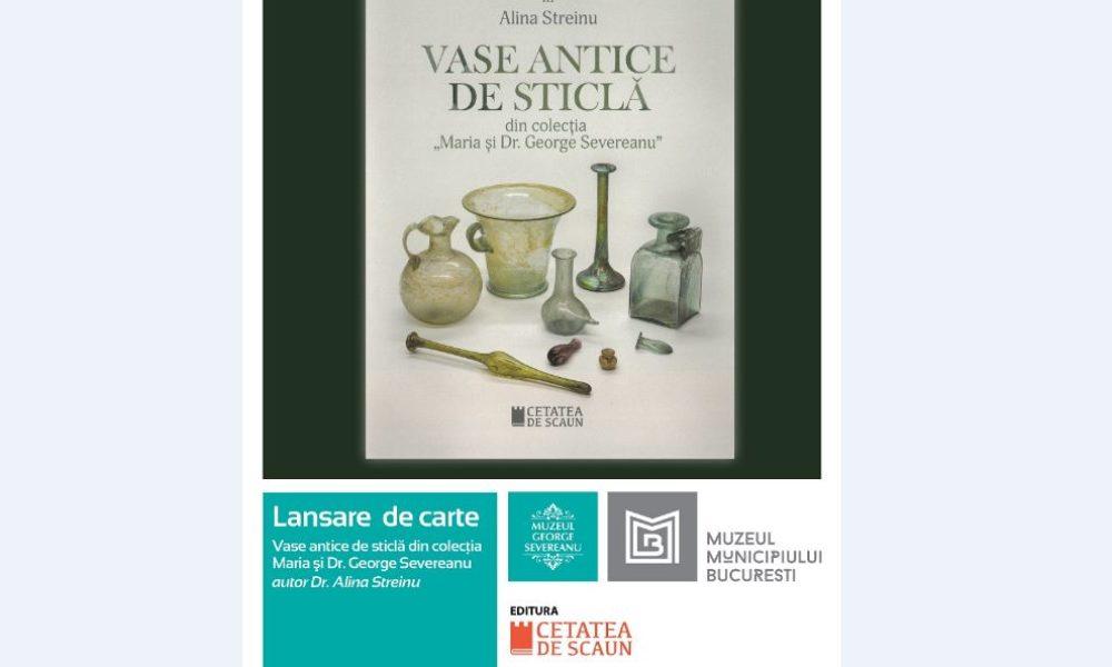 Vasele de sticlă din epoca romană, subiect de carte