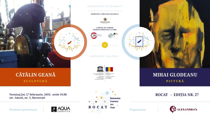 ROCAT 27 – Dumitru Mihai Glodeanu vs Cătălin Geană la Galeria Alexandra's