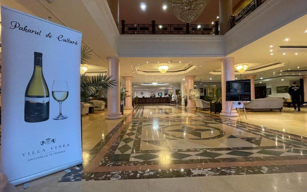 Paharul de Cultură, inițiativa culturală a cramei Villa Vinea